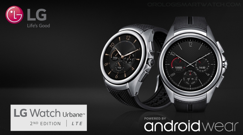 Scheda Tecnica LG Watch Urbane 2nd Edition (W200E)