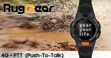 RugGear presenta uno smartwatch con 4G e tecnologia Push-To-Talk