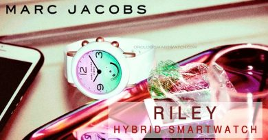 Scheda Tecnica Marc Jacobs Riley Hybrid Smartwatch