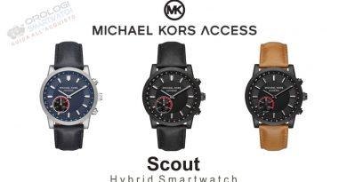 Scheda Tecnica Michael Kors Access Scout Hybrid Smartwatch