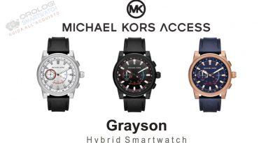 Scheda Tecnica Michael Kors Access Grayson Hybrid Smartwatch