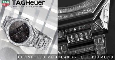 Tag Heuer presenta la versione Full Diamond del Connected Modular 45
