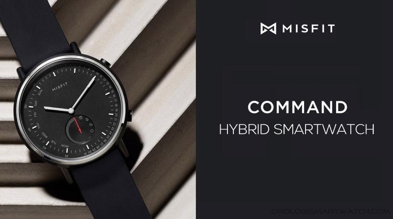 Scheda Tecnica Misfit Command Hybrid Smartwatch