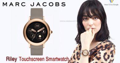Scheda Tecnica Marc Jacobs Riley Touchscreen Smartwatch