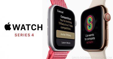 Apple Watch Series 4: nuovo look e funzioni avanzate per la comunicazione, la salute e il fitness