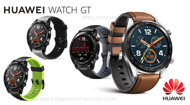 Scheda Tecnica Huawei Watch GT