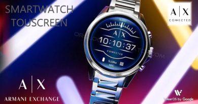 Scheda Tecnica Armani Exchange Smartwatch Touchscreen