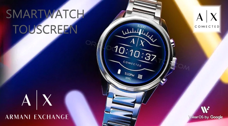 Scheda Tecnica Armani Exchange Smartwatch Touchscreen