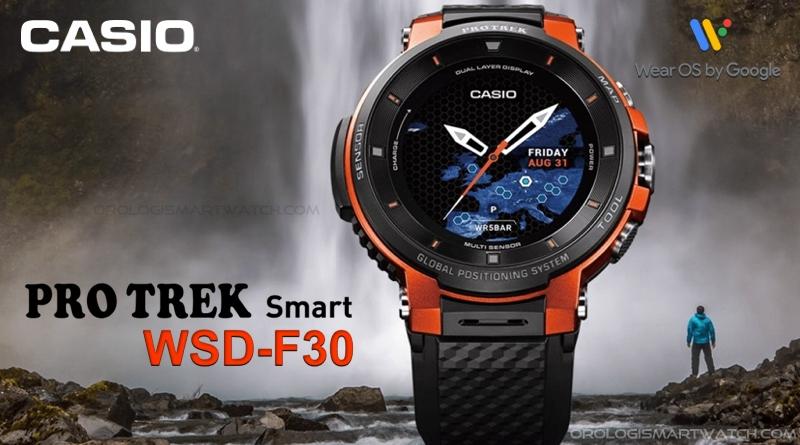 Scheda Tecnica Casio PRO TREK Smart WSD-F30