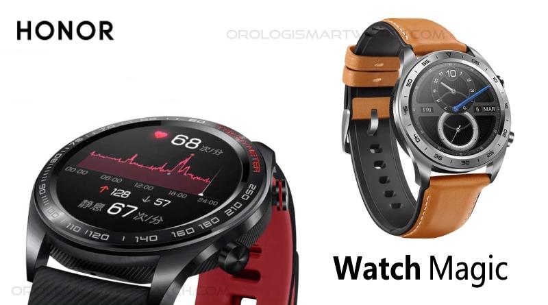 Scheda Tecnica Honor Watch Magic