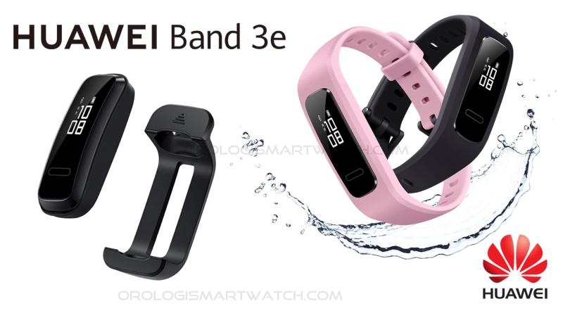 Scheda Tecnica Huawei Band 3e fitness tracker