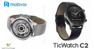 Scheda Tecnica Mobvoi Ticwatch C2