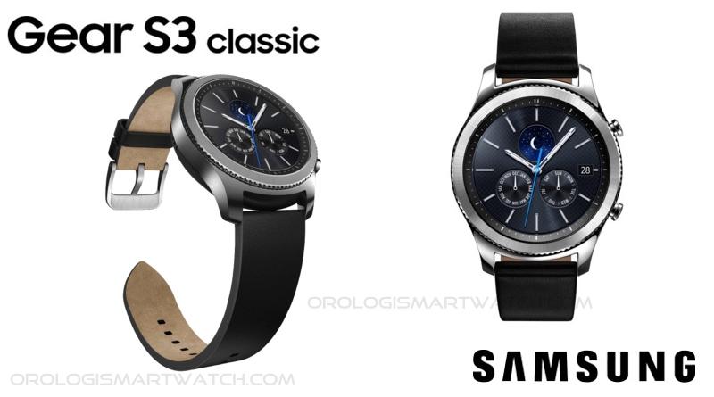 Scheda Tecnica Samsung Gear S3 Classic