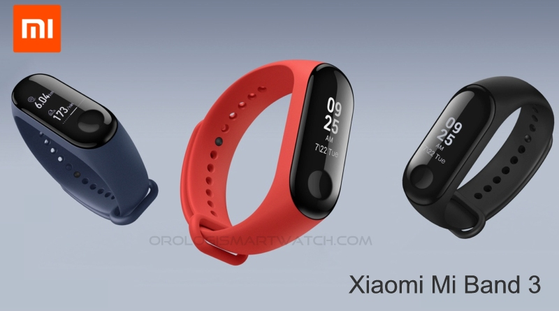 Scheda Tecnica Xiaomi Mi Band 3 fitness tracker