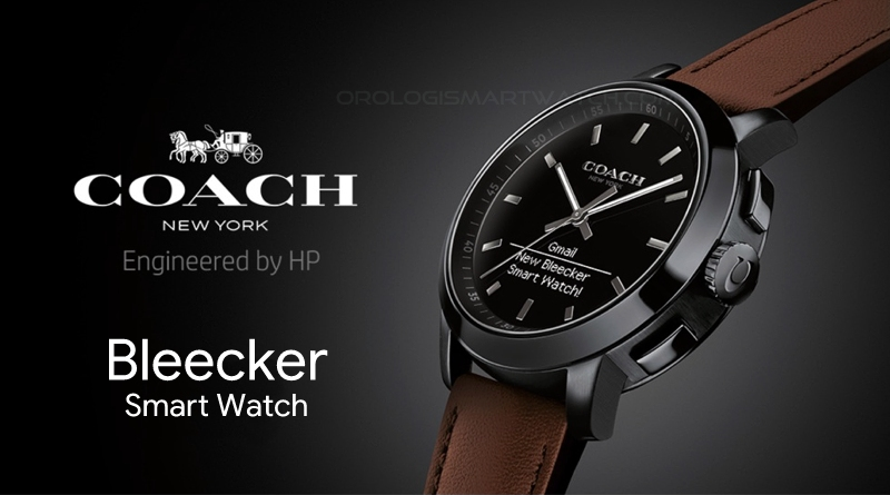 Scheda Tecnica Coach Bleecker Smart Watch