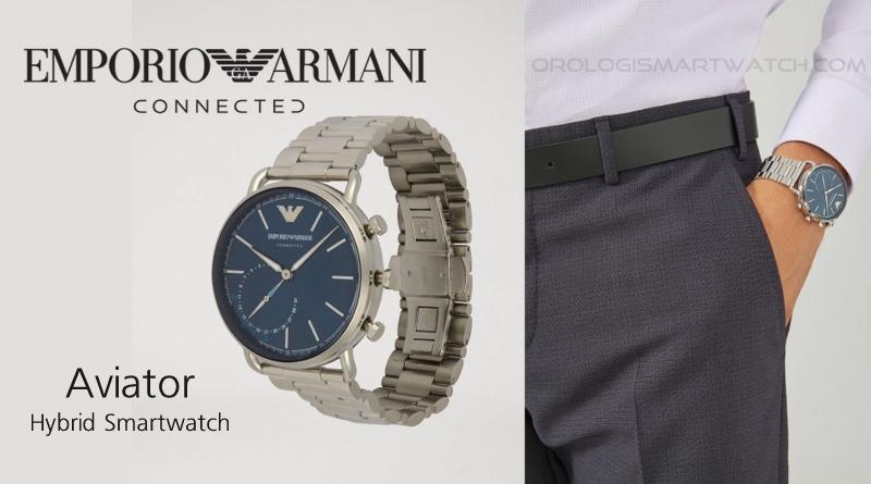 Scheda Tecnica Emporio Armani Connected Aviator Hybrid Smartwatch