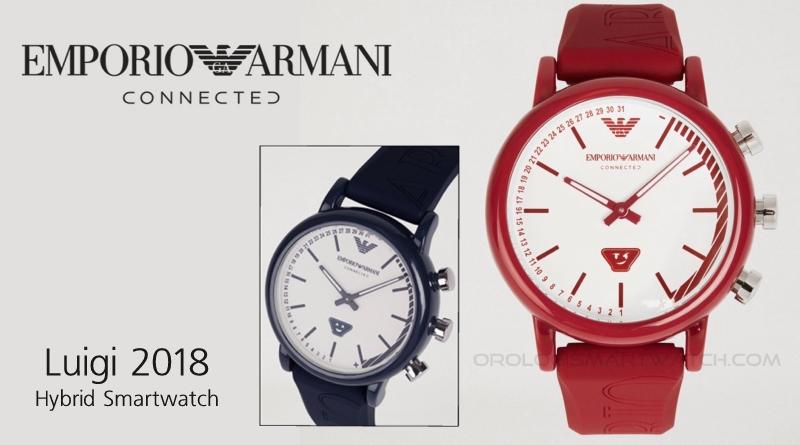 Scheda Tecnica Emporio Armani Connected Luigi 2018 Hybrid Smartwatch