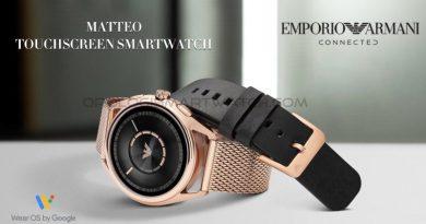 Scheda Tecnica Emporio Armani Connected Matteo Smartwatch Touchscreen