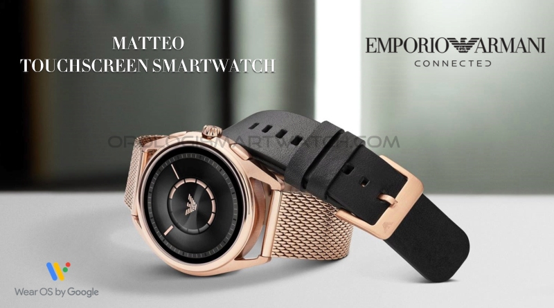 Scheda Tecnica Emporio Armani Connected Matteo Smartwatch Touchscreen