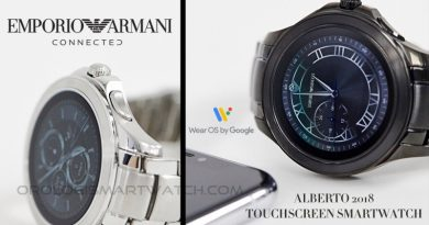 Scheda Tecnica Emporio Armani Connected Alberto 2018 Smartwatch Touchscreen