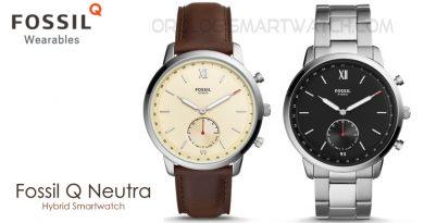 Scheda Tecnica Fossil Q Neutra Hybrid Smartwatch