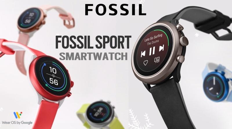 Scheda Tecnica Fossil Sport Smartwatch