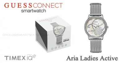 Scheda Tecnica Guess Connect Aria Ladies Active Smartwatch