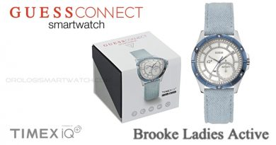 Scheda Tecnica Guess Connect Brooke Ladies Active Smartwatch