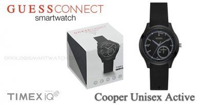 Scheda Tecnica Guess Connect Cooper Unisex Active Smartwatch