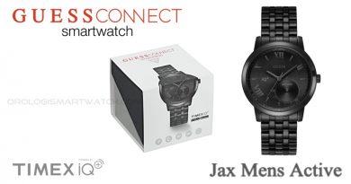 Scheda Tecnica Guess Connect Jax Mens Active Smartwatch