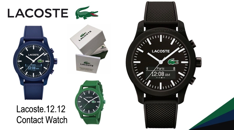 Scheda Tecnica Lacoste.12.12 Contact Watch