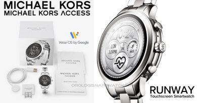 Scheda Tecnica Michael Kors Access Runway Touchscreen Smartwatch