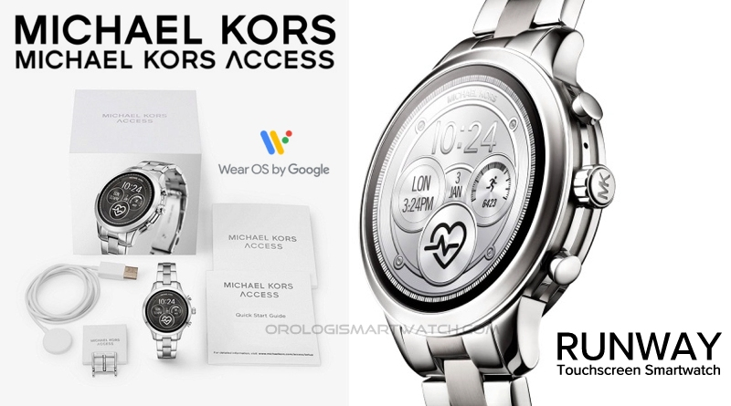 Scheda Tecnica Michael Kors Access Runway Touchscreen Smartwatch