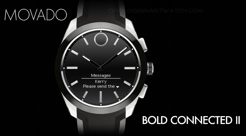 Scheda Tecnica MOVADO Bold Connected II