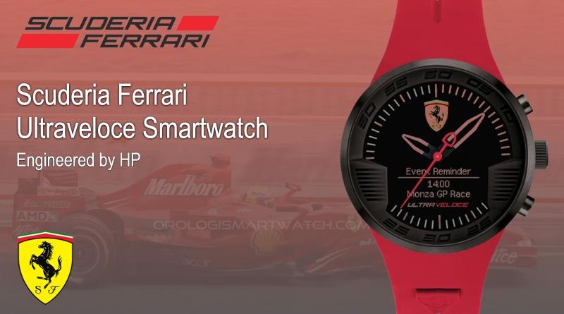 Scheda Tecnica Scuderia Ferrari ULTRAVELOCE 46mm Hybrid Smartwatch