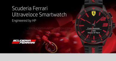 Scheda Tecnica Scuderia Ferrari ULTRAVELOCE Hybrid Smartwatch