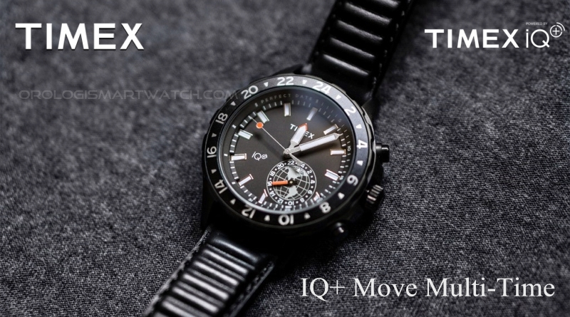 Scheda Tecnica Timex IQ+ Move Multi-Time Smartwatch