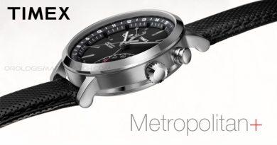 Scheda Tecnica Timex Metropolitan+