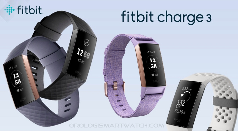 Scheda Tecnica Fitbit Charge 3