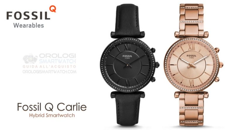 Scheda Tecnica Fossil Q Carlie Hybrid Smartwatch