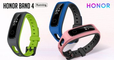 Scheda Tecnica Honor Band 4 Running Edition