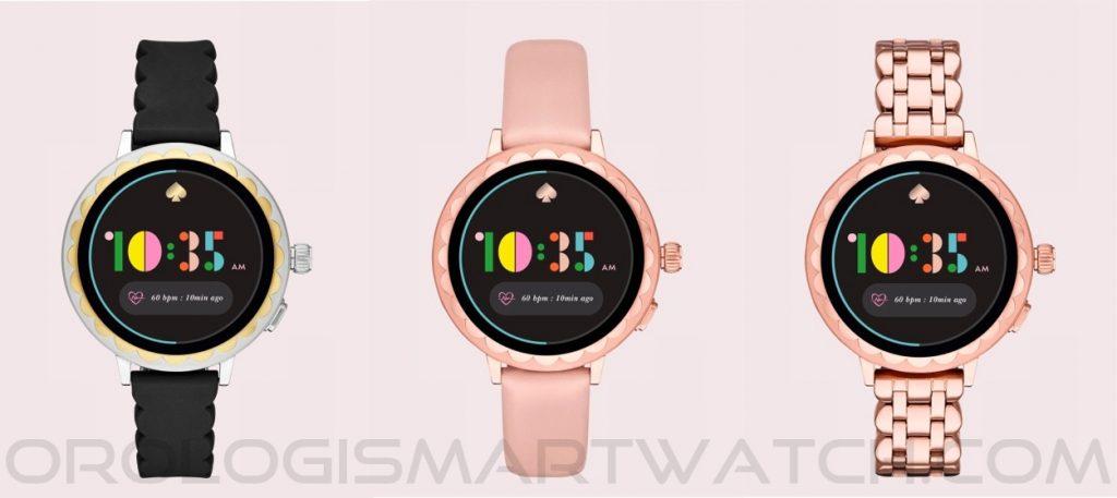 Scheda Tecnica Kate Spade New York Scallop 2 Smartwatch