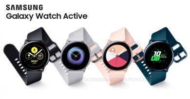 Scheda Tecnica Samsung Galaxy Watch Active