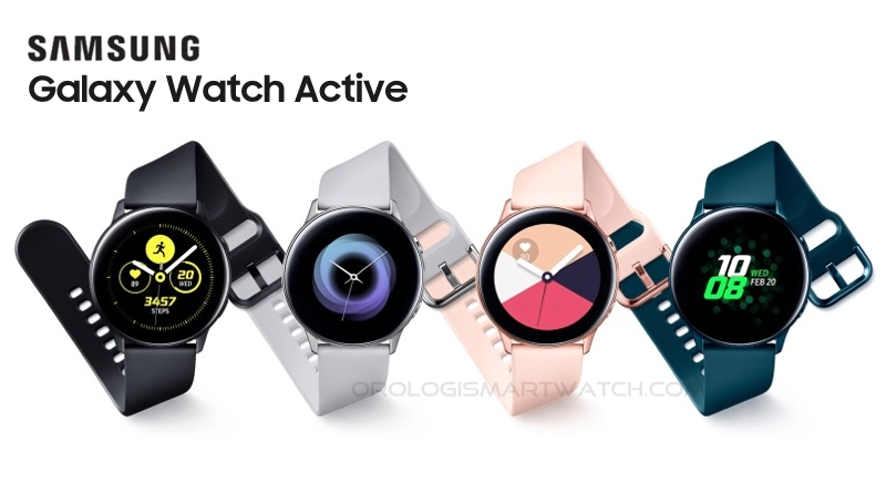 Scheda Tecnica Samsung Galaxy Watch Active