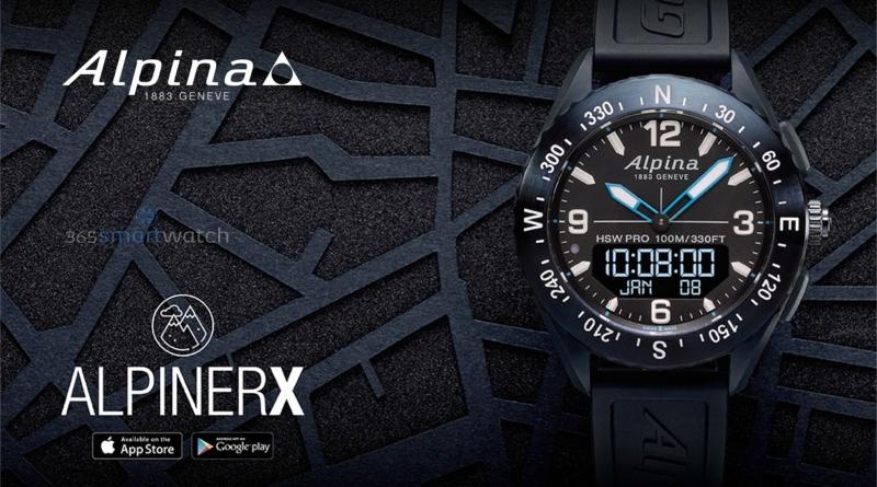 Alpina lancia quattro nuove varianti dello smartwatch da outdoor AlpinerX