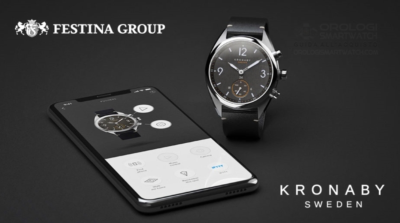 Festina Group acquisisce Kronaby