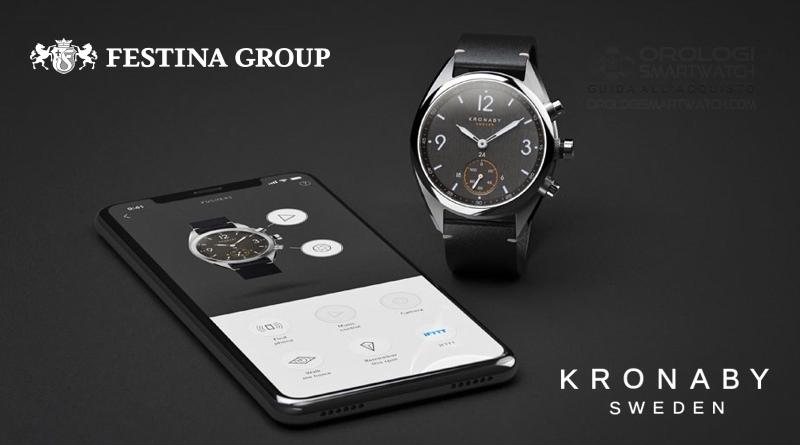 Festina Group acquisisce Kronaby