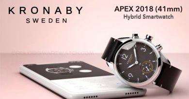 Scheda Tecnica Kronaby Apex 2018 41mm Hybrid Smartwatch