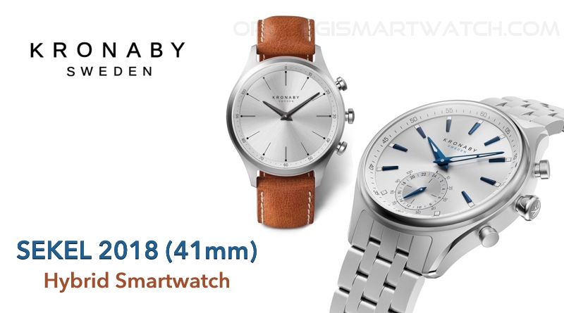 Scheda Tecnica Kronaby Sekel 2018 41mm Hybrid Smartwatch