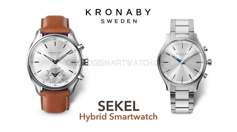 Scheda Tecnica Kronaby Sekel Hybrid Smartwatch